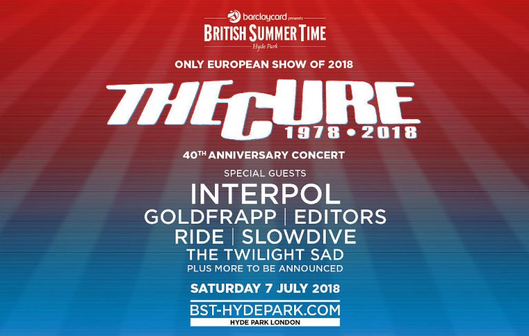 The Cure British Summertime Hyde Park